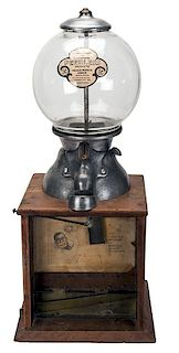 Blue Bird Products Co. 1 Cent Penny Drop Gumball Vendor.