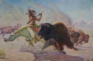 Gregory Perillo, Buffalo Hunt