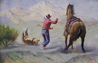 Gregory Perillo, Calf Roping