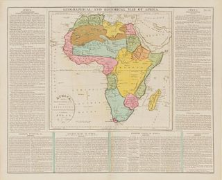 ASPIN, Jehosophat (fl.1814-1840) Africa: Drawn from the best Authorities for the Illustrations of Lavoisne's... Atlas. London