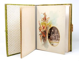 A Russian Photo Album Illustrated by N. Karazin. 1890s