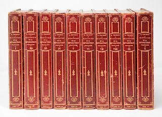 1865 Histoire de la Revolution Francaise, Thiers, M. A.