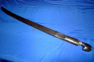 Imperial Russian Caucasian Sword Shasha Silver Nie