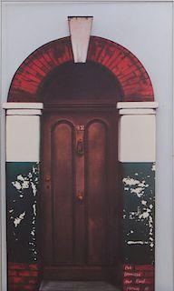 HOWARD KANOWITZ (b. 1929): DOORWAY