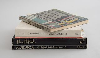 MISCELLANEOUS GROUP OF FIVE ART BOOKS