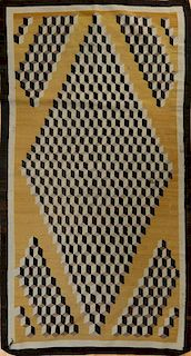 INDIAN DHURRIE IN CUBE PATTERN