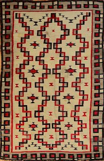 TWO SOUTHWEST INDIAN RUGS