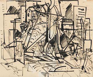 Hans Hofmann, (German, 1880-1966), Untitled, 1942