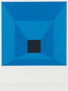 Josef Albers, (American/German, 1888-1976), Josef Albers at the Metropolitan Museum of Art, 1971
