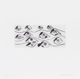 Louise Bourgeois, (American/French, 1911-2010), Eyes, 1996