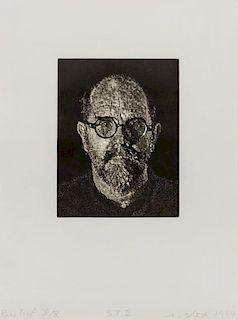 Chuck Close, (American, b. 1940), S.P. II, 1997