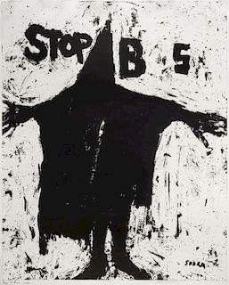 Richard Serra, (American, b. 1939), Stop BS, 2004