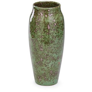 GRAND FEU Exceptional tall vase