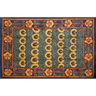 STYLE OF WILLIAM MORRIS Donegal style rug