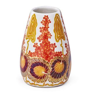 ZSOLNAY Vase with flowers