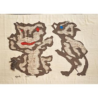 AFTER KAREL APPEL Tapestry