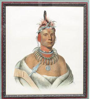 Charles Bird King (1785-1862)- Lithograph