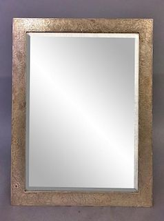 Large Sterling Silver Framed Mirror