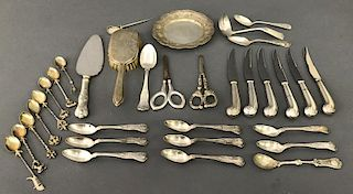Sterling and Silver Plate Tableware