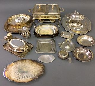 Miscellaneous Silver Plate Grouping