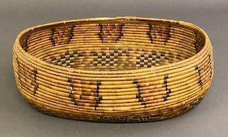 Apache Oval Woven Basket