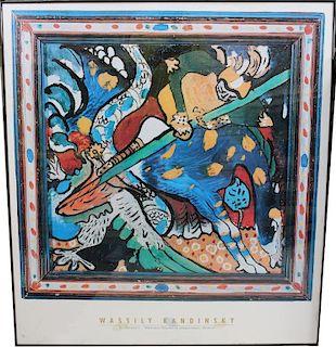Wassily Kandinsky Poster, Munich National Gallery