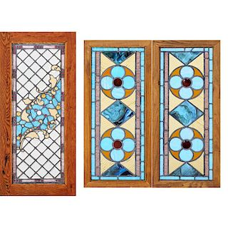 ARTS & CRAFTS Three windows
