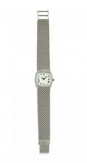 LADY'S DIAMOND WRISTWATCH, JUVENIA