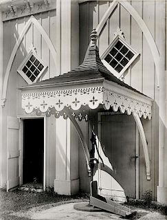 Walker Evans (American, 1903-1975)      Maine Pump