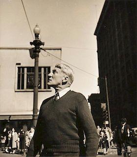 Walker Evans (American, 1903-1975)      Street Portrait, Chicago
