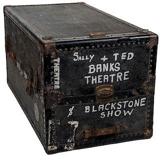 Blackstone Company Theatrical Wardrobe Trunk.
