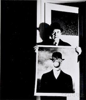 Bill Brandt (British, 1904-1983)      René Magritte