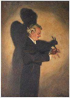 Portrait of Harry Blackstone.