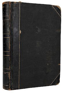 Early Scrapbook of Blackstone's Newspaper Publicity.