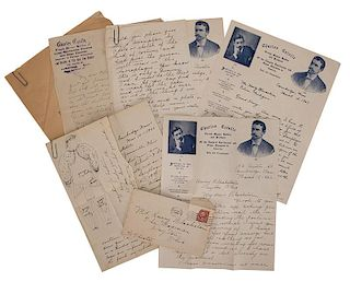 Archive of Charles Catulle—Harry Blackstone Correspondence.