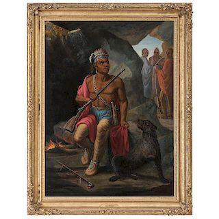 Carl Ferdinand Wimar, <i>The Warrior</i>