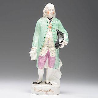 Staffordshire Figure of Benjamin Franklin, Mislabeled