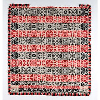 Bucks County Coverlet, Signed by Michael Kaufman