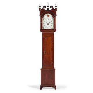 <i>Thomas Crow</i> Tall Case Clock in Walnut