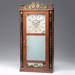 <i>Silas Hoadley</i> Shelf Clock