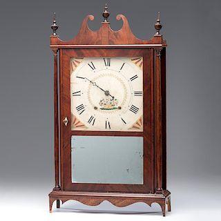 <i>Seth Thomas</i> 30-Hour Pillar & Scroll Clock