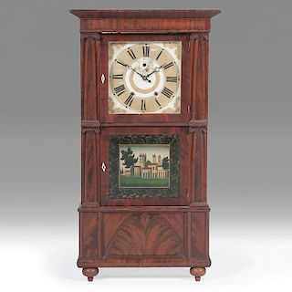 <i>Isaac Packard</i> Triple Decker Clock