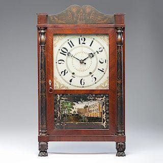 <i>Mark Leavenworth & Co.</i> Shelf Clock