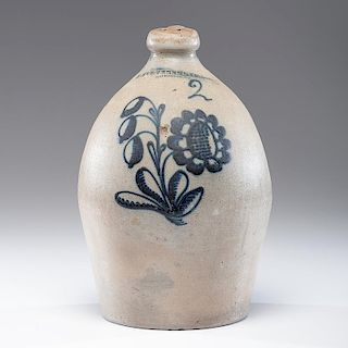 New York <i>E. Stetzenmeyer</i> Stoneware Jug