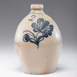 New York <i>E. Stetzenmeyer & Co.</i> Stoneware Jug