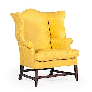 Connecticut Chippendale Easy Chair