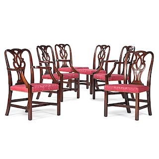 <i>Baker</i> Chippendale-style Dining Chairs