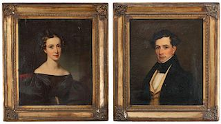 James Reid Lambdin, Portraits of a Man and Woman