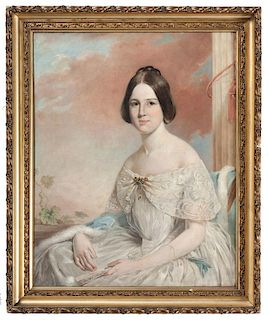 Antebellum Portrait of a Young Woman by Trevor Thomas Fowler