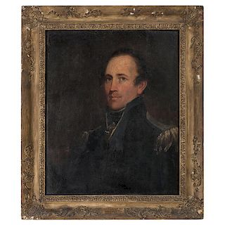 Matthew Harris Jouett (American, 1788-1827), Portrait of Colonel William Allen Trimble